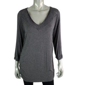 Maurices Womens Tunic Top Size XL Open Back